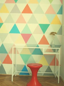Artistic & Colorful Wonderland - Appartement