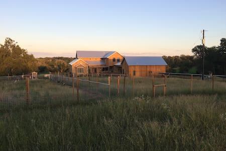 Child's Farm Guest Quarters - Blockhütte
