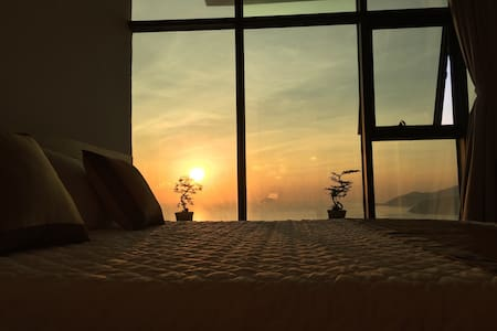 Sea view apartment on 45th fl. # 34