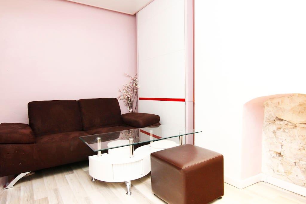 Furnished bedroom - Center of Paris