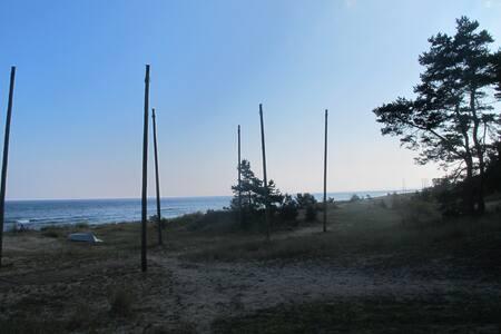 Charmigt Strandhus i Yngsjö - Talo