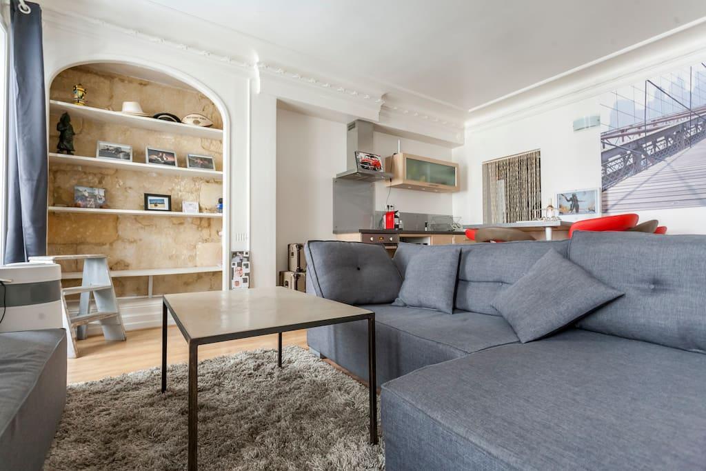 T2 quinconces hyper centre appartements louer bordeaux for Location t2 bordeaux hyper centre