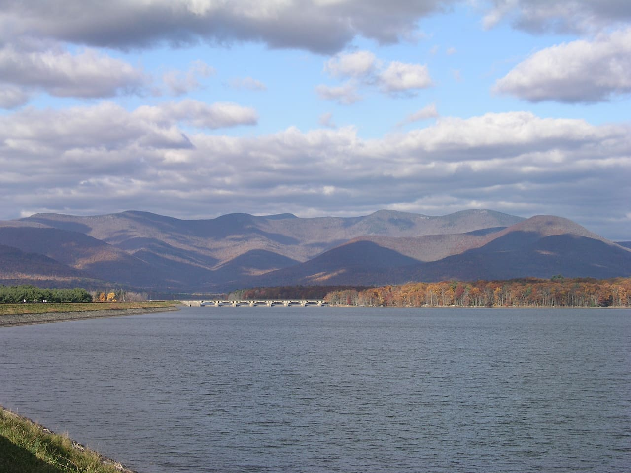 The Neareby Ashokan Reservoir