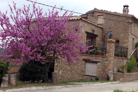 Vistas a Montserrat, casa de campo - Castellbell i el Vilar - House