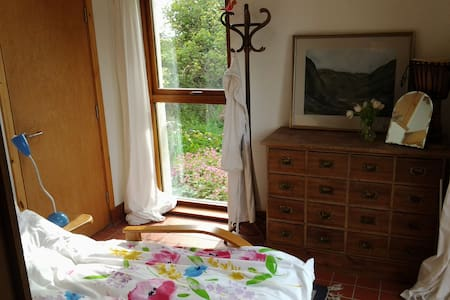 Stone cottage+Extension Room - Balmullo - Bed & Breakfast