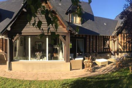 Maison luxe grand Jardin securises - Tourgeville - Huis