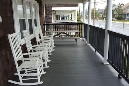 Cozy condo 1 block from the beach - Bay Head - Pis