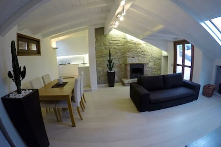 COMO Splendido appartamento-La Mansarda-Apartment - Lejlighed