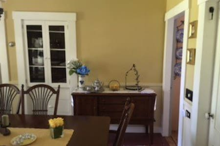 Renovated 1880s home Groton center-Breakfast! - Casa