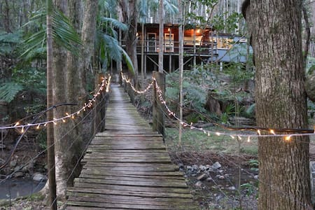 Secluded Magical Rainforest Retreat - Kulübe