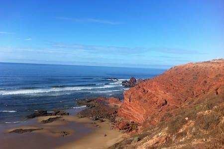 Maroc Agadir Mirleft Tiznit  beach - Villa