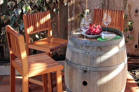Spa, Bocce, BBQ Kitchen, Wineries