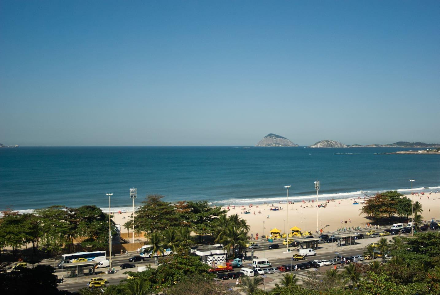 Copacabana Ocean view / Suite for 2