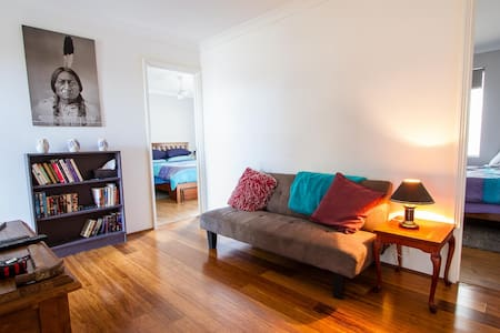 Two rooms to rent in home close to beautiful beach - House