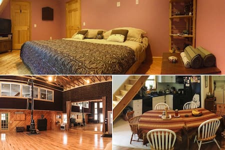 Large Bedroom in an Arts Retreat! - Buckfield - Rumah