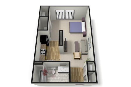 Downtown Studio for the Holidays - Birmingham - Appartement