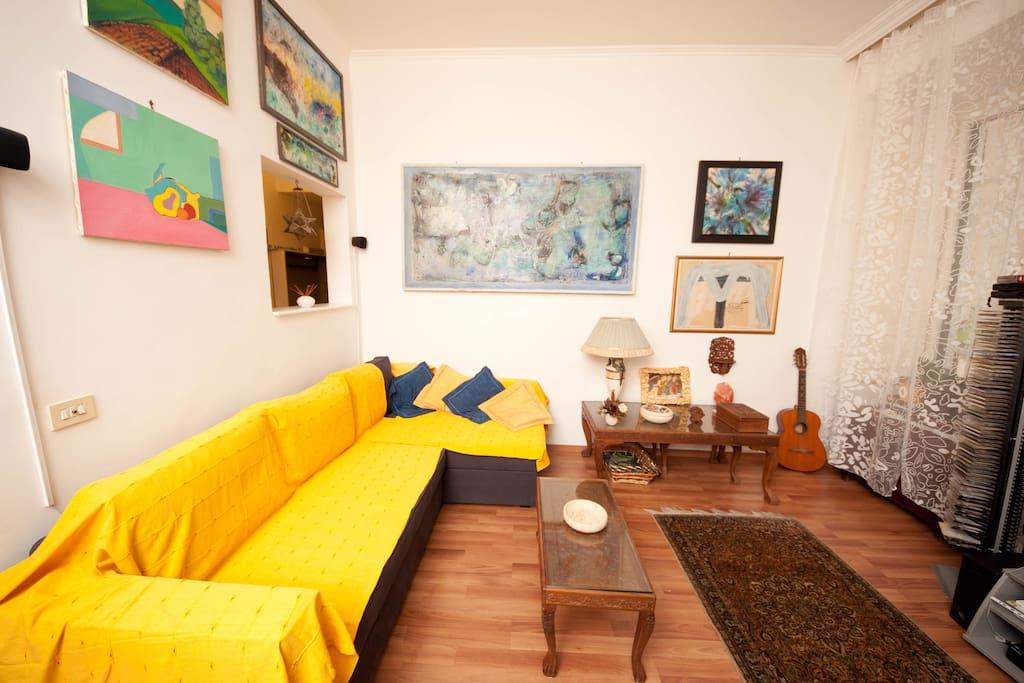 living room, sofa