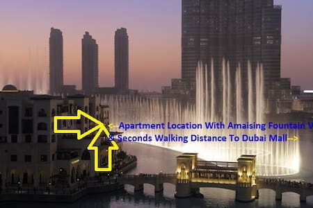 Luxury, Steps Above Fountains/Mall - Dubai - Wohnung