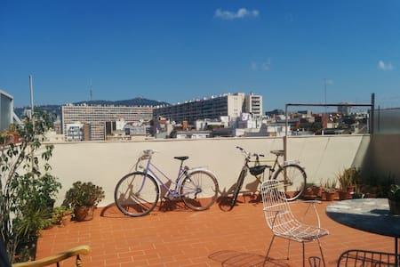 Cosy private double room Les Corts - Barcelona