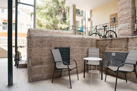 Big Room In Jerusalem's Heart - 公寓