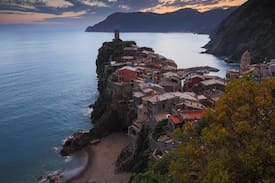 Picture of Vernazza - small room.