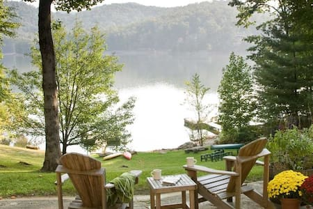 Blue Ridge Mountain Lakehouse - Cullowhee - House