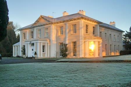 Monachty Mansion Henry's Twin Room - Aberaeron - Bed & Breakfast