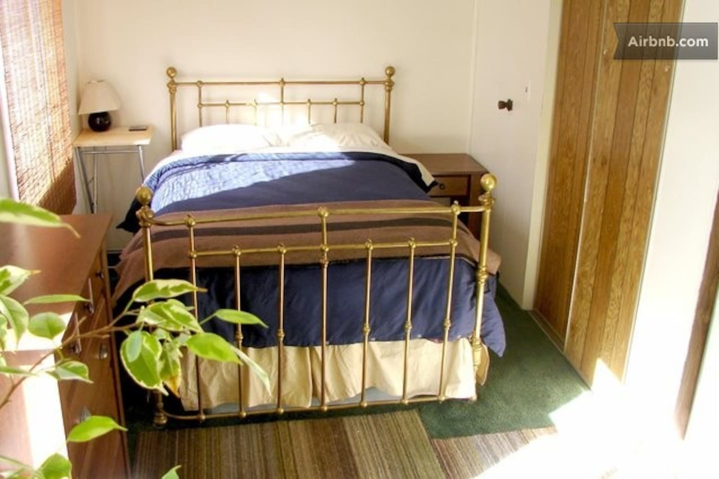 Large comfortable bed.