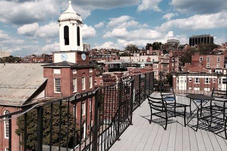 Boston's finest! Huge Roof Deck!