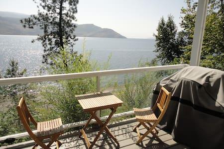 Lake View Peachland Private Suite  - Lakás