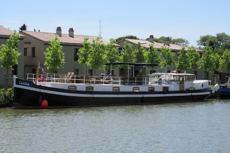 Luxury Hotel Barge on Canal du Midi - Castelnaudary