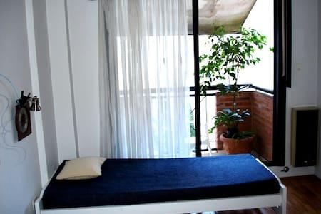Departamento 50m2. Pleno centro - Dormitório