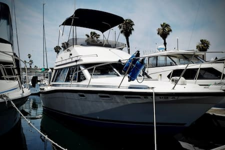 32' Powerboat in Newport Harbor - Vaixell