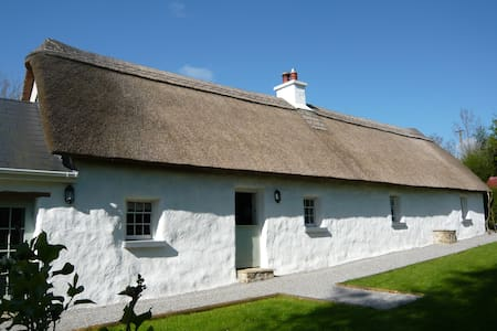 Hawthorn Cottage - Thatched Cottage - Laois - Huis