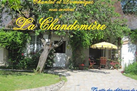 Gîte de charme La Chandomière - Haus