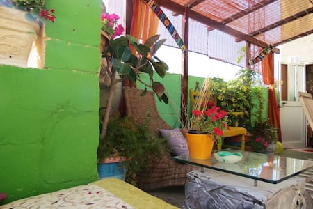 Forest room with Maltese balcony:)