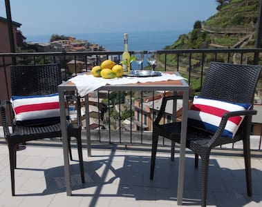Casa Capellini sea view apartment - Manarola - Lägenhet