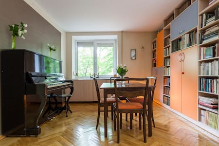 Sunny Scandinavian style flat in a green oasis - Sankt Petersborg - Lejlighed