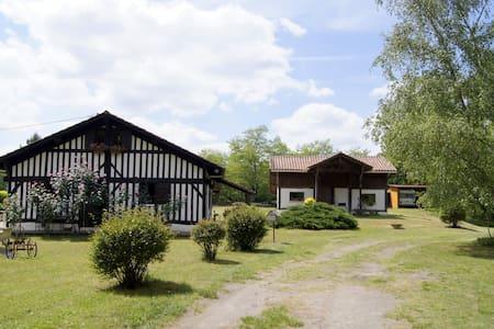 Grange dans la forêt landaise - Dom