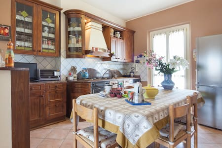 Cozy rooms in Saluzzo, Piedmont - Apartamento