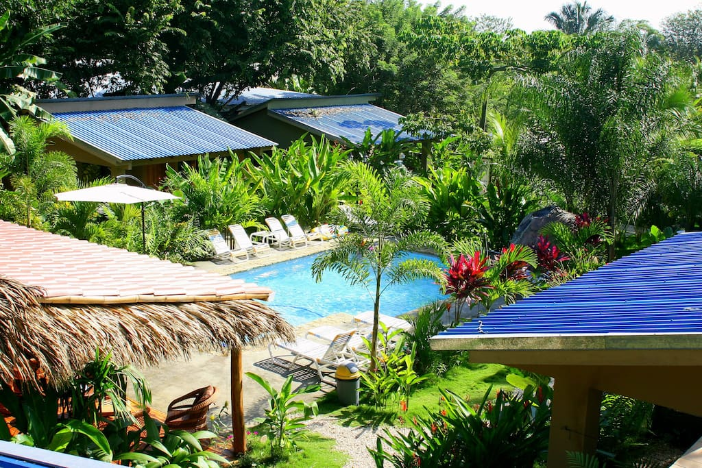 Zula Inn is very secluded but in the heart of Santa Teresa