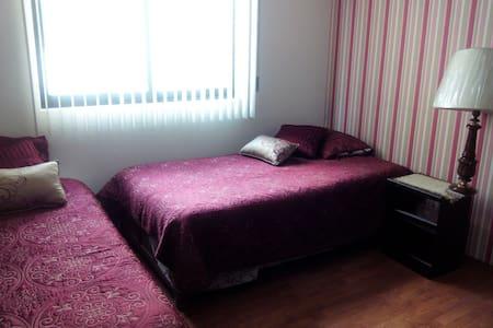 Habitación privada doble individual en Toluca - Toluca - Rumah
