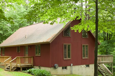In the woods, on the river - Hillsdale - House
