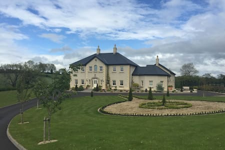 Lavender Manor BNB Master Bedroom - Fermanagh