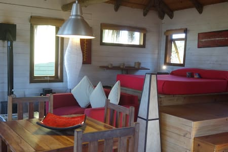 AWESOME wood cabin and OCEAN VIEWS! - Punta del Diablo - Chalet