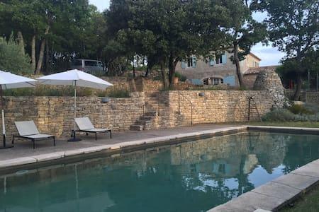 La Maison d'Edith en Provence - Saignon