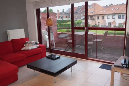 Bright spacious apartment in the center of Aalst - Lakás