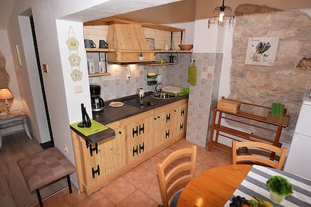 Apartment Luna Sky (2-4 persons) Old stone house - Wohnung