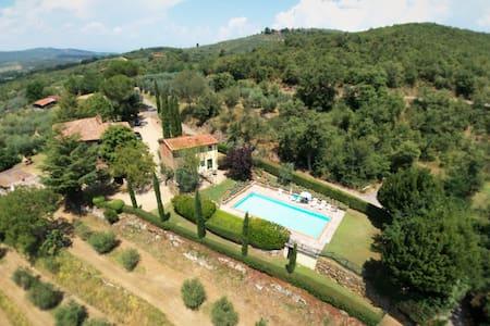 Tuscan Farmhouse - Bucine/Arezzo - Bucine - Apartemen