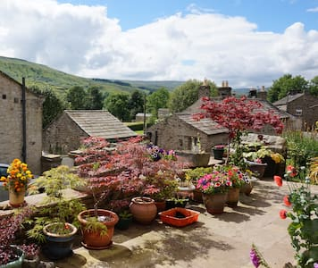 Spacious ensuite room with scenic Swaledale views - Gunnerside - Casa